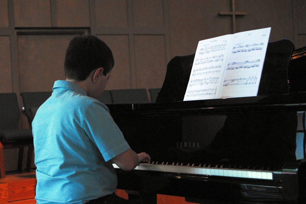pre-teen piano