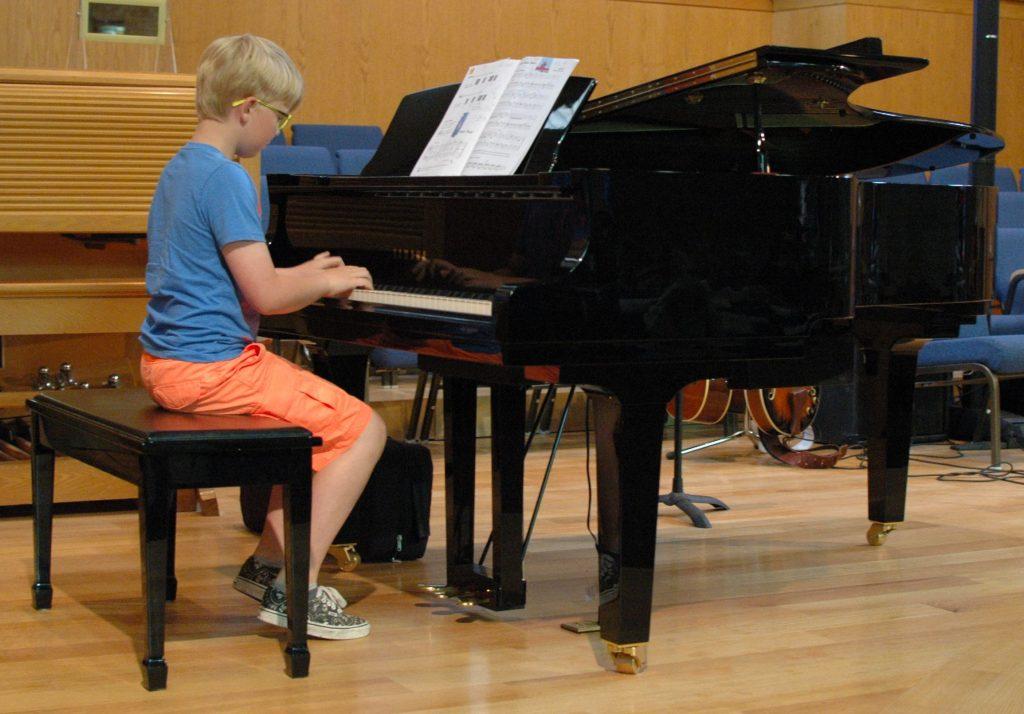 Boy in Shorts piano
