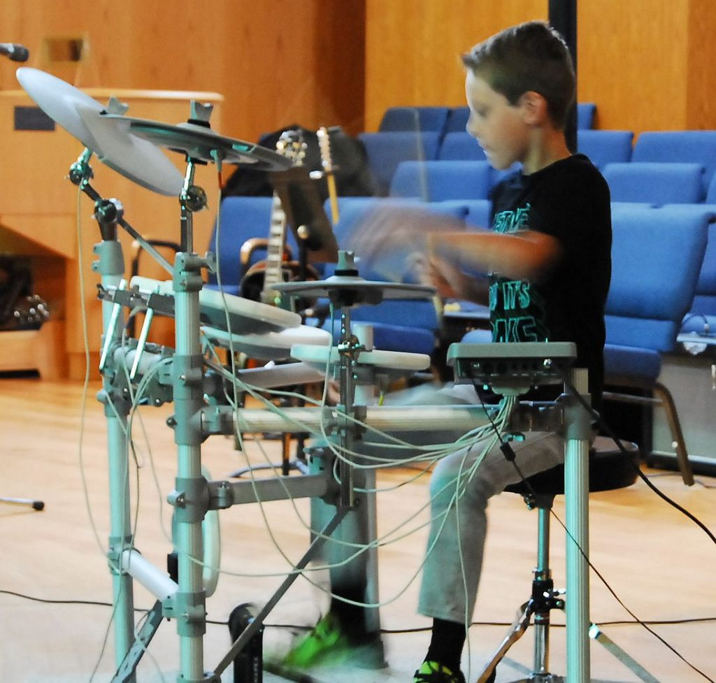 Drumming Student