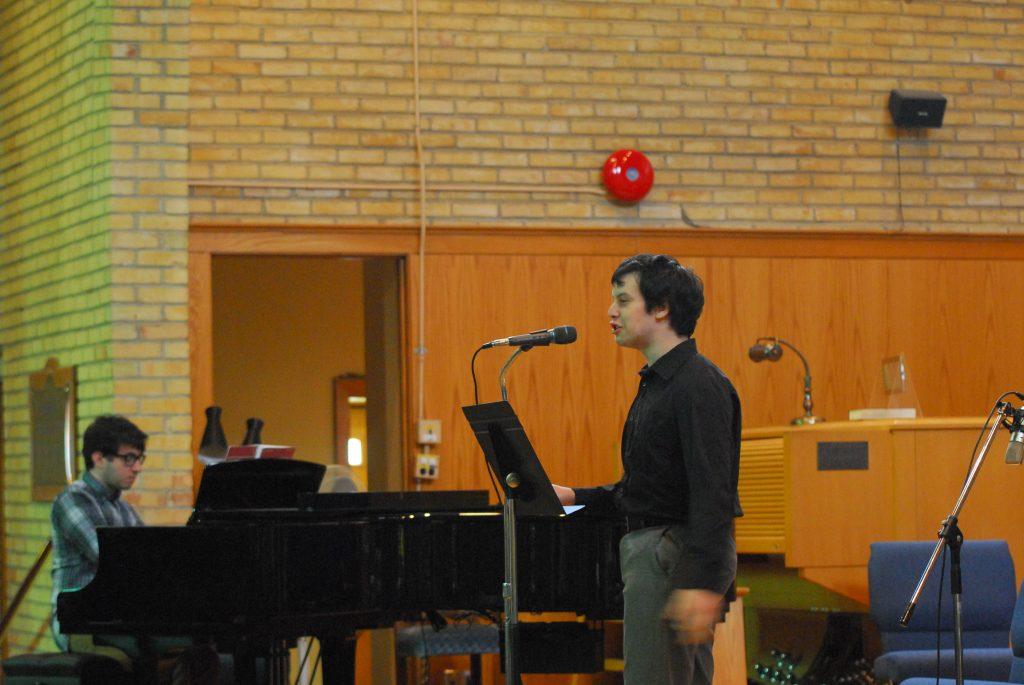 Teen Singing Student