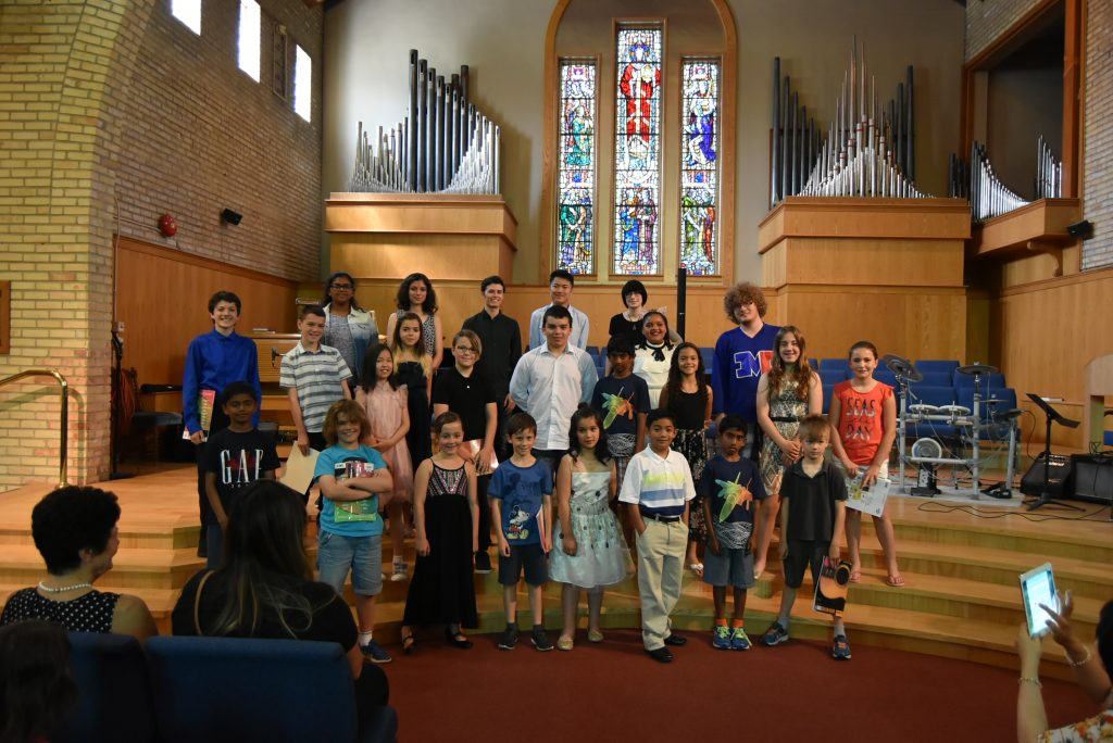 Music Student Recital Winnipeg