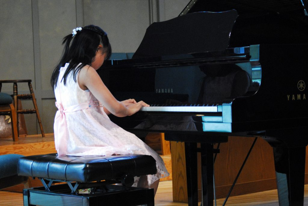 asian girl piano