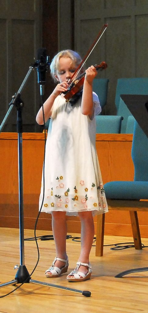 Little Girl Violin