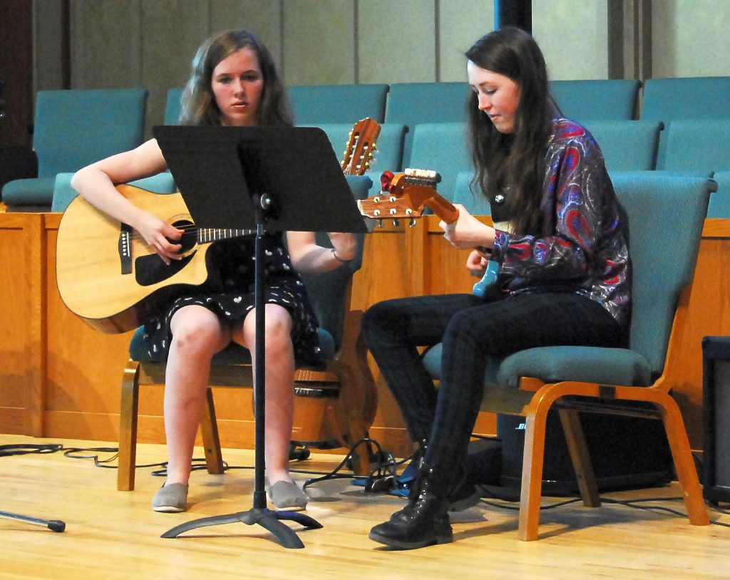 Teen Girl Guitar Student