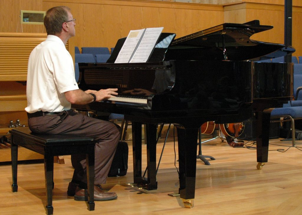 Adult Piano Student