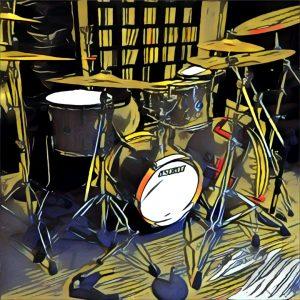 Cartoon Drums
